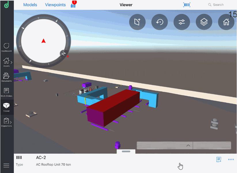 Imagen 5. Visualizador plataforma móvil de EcoDomus para iOS y Android. Fuente:EcoDomus