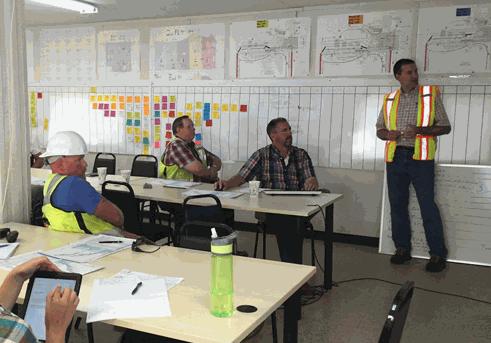 Planificación colaborativa en obra