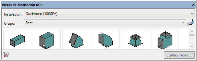 Paleta Piezas de fabricacion