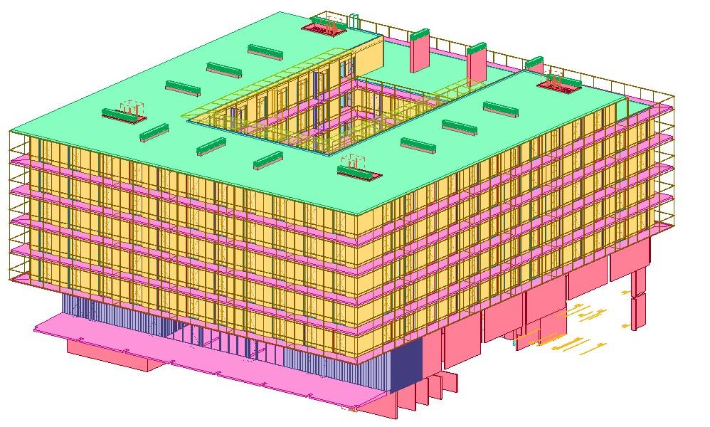 1. Edificio colores