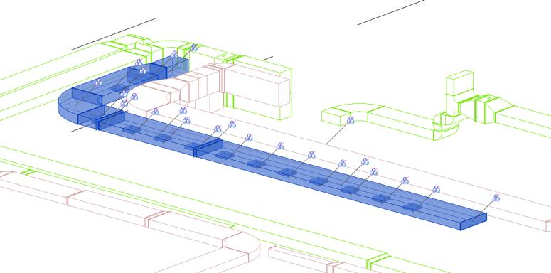 Cuadro de texto: Ilustración 1Instalación mecánica con distintos sistemas – fuente propia
