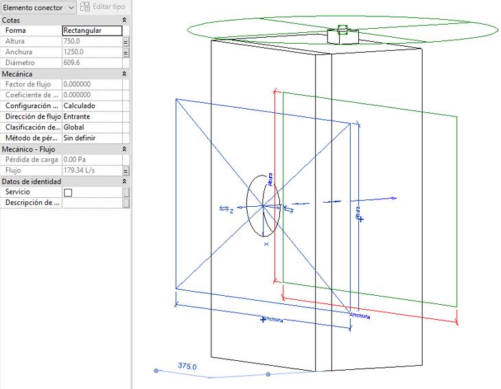 Cuadro de texto: Ilustración 3Definición de un conector MEP - Fuente propia