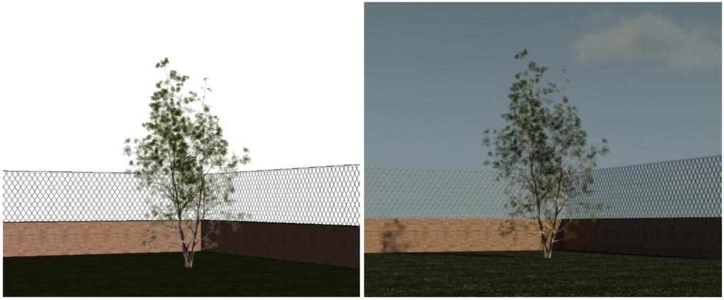 Imagen 3. Aplicacion muro de malla. Fuente propia