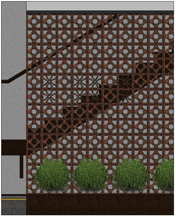 Imagen 8. Variantes de paneles en muro cortina. Fuente propia