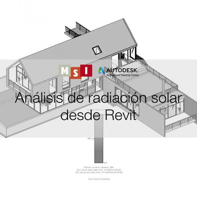 0. Análisis de radiación solar desde Revit