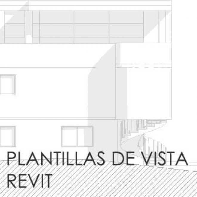 PLANTILLA DE VISTA CON REVIT