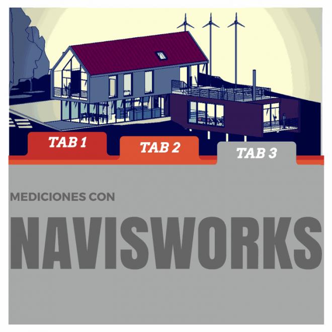 medir con navisworks